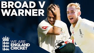 Every Broad Wicket V Warner! | The Ashes 2019 Highlights | England Cricket