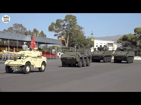 El VCR 8x8 Dragón fue el protagonista del desfile por el centenario de la Legión