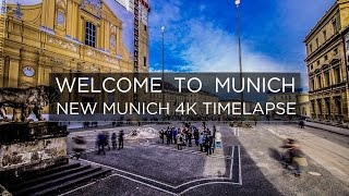 WELCOME TO MUNICH - 4K Timelapse by Felix Seichter