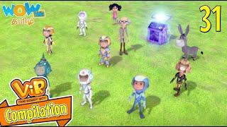 தமிழ் கதை | Vir The Robot Boy | Compilation 31 | WowKidz தமிழ்