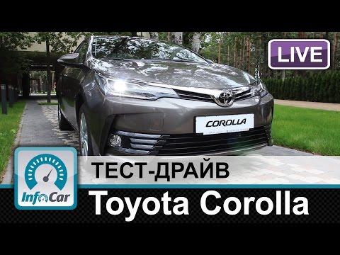 Toyota  Corolla Седан класса C - тест-драйв 3