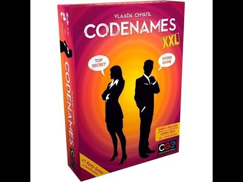 The Purge: # 1984 Codenames XXL vs Codenames: Will David or Goliath win?