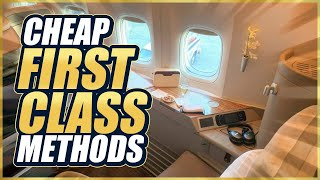 5 Tips to Fly FIRST CLASS for EXTREMELY CHEAP!