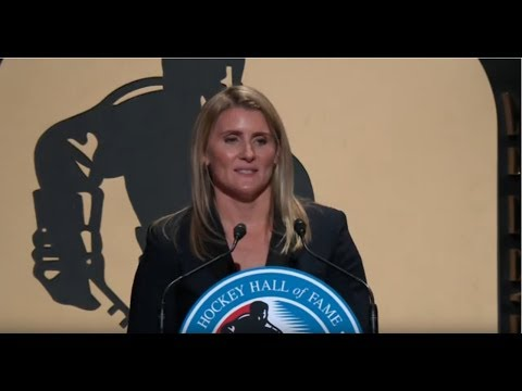 Hayley Wickenheiser Hockey Hall of Fame Induction Speech (2019)