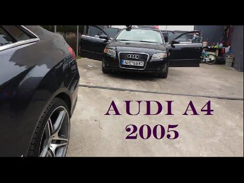 Audi A4 разборка и перетяжка потолока