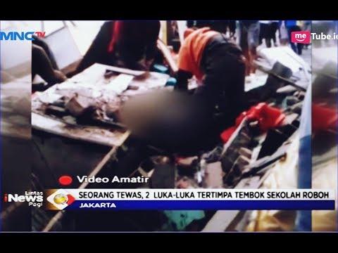 Tembok SDN 11 Pasar Baru Ambruk, 1 Orang Tewas, 2 Luka-luka - LIP 20/05