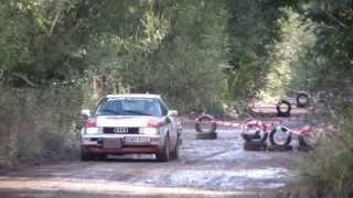 preview picture of video '1 Szutrowy Rally Sprint Dobczyce 29.09.2013r. HD'
