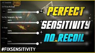 pubg mobile best sensitivity settings no recoil android