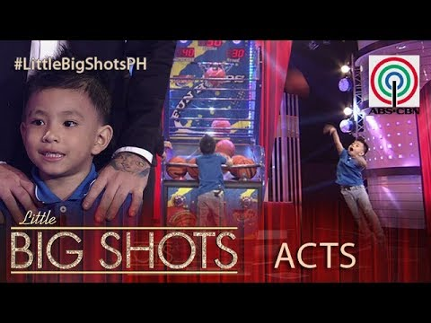 Little Big Shots Philippines: Kean | 4-year-old Kid Basketball Shooter
