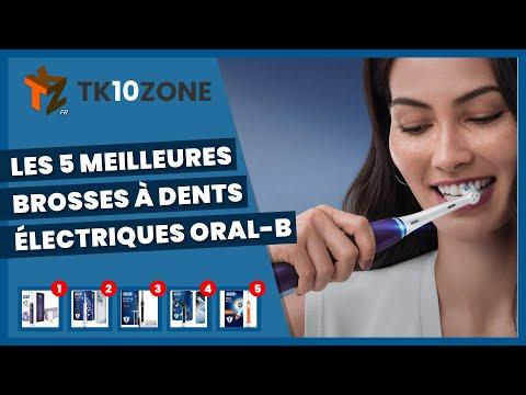 Les 5 meilleures brosses à dents électriques Oral-B