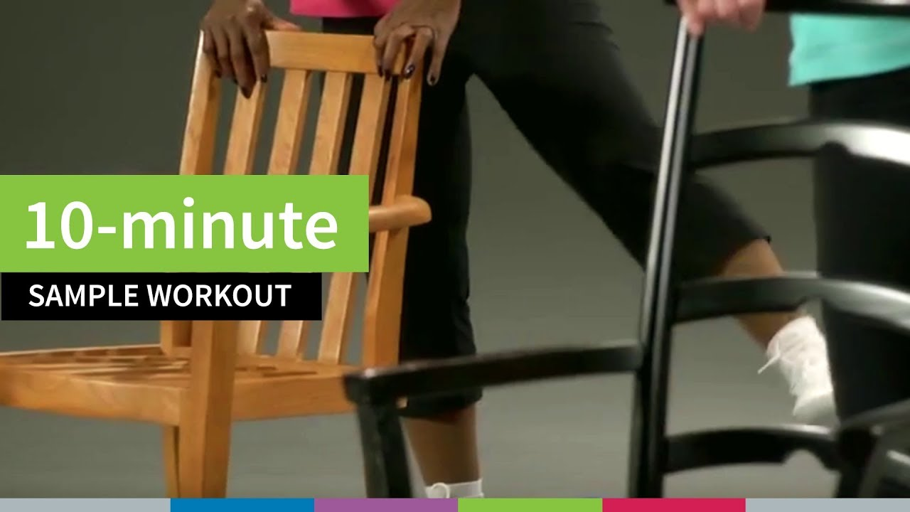 10-Minute Sample Workout for Older Adults