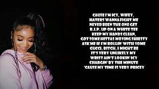 Saweetie   Icy Girl Bae Mix (Lyrics) Ft. Kehlani