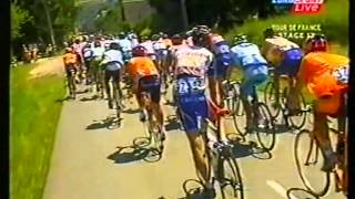 (1/4) Turul Frantei 2004, Etapa 13 Lannemezan -- Plateau De Beille  (205.5 Km)