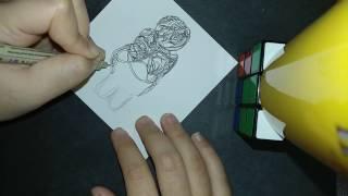 Venus of Willendorf Doodle