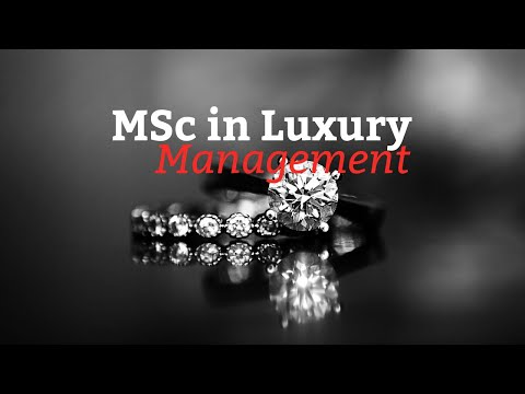 MSc in Luxury Management Program