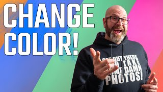 Using Gels To Change Background Color