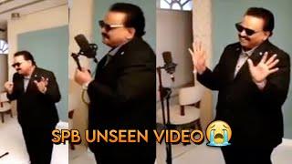 SP Balasubramaniam Unseen Video At Photoshoot || We Miss SP Balu Garu