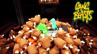 Gang Beasts - Mountain Of Trash [Father And Son Gameplay]