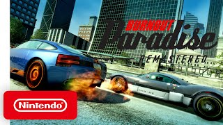Burnout Paradise Remastered - Announcement Trailer - Nintendo Switch