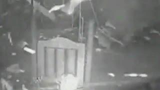 Playground security camera shows tornado