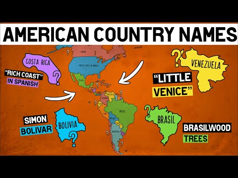 How Every Country in the Americas Got Their Names