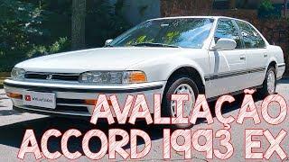 Avaliação Honda Accord 1993 Ex 2.2 - Como Era Ser Patrão Nos Anos 90!