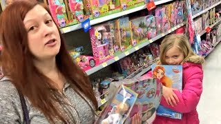 BEGGING DADDY GRIM FOR TOYS AT WALMART!