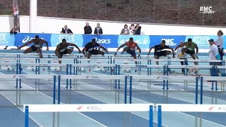 Meeting Elite de Nantes 2019 : Wilhem Belocian 2e en 7''65 sur 60 m haies