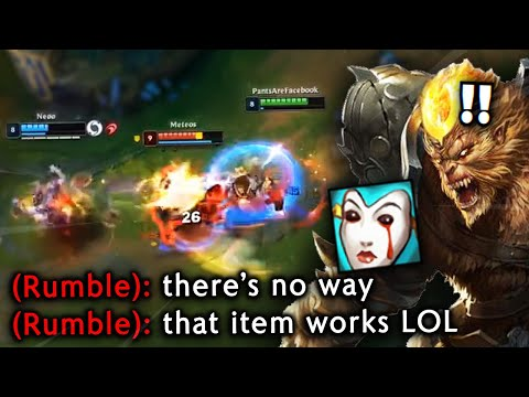 DAY 86 - I BUILT LIANDRY'S ON WUKONG IN A CHALLENGER GAME.. AND IT WAS ACTUALLY DECENT?
