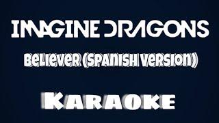 believer imagine dragons lyrics karaoke español - TH-Clip
