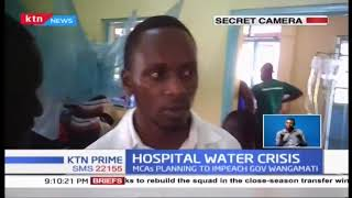 Bungoma County Referral Hospital tragically lacking water