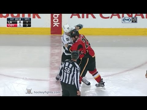 Deryk Engelland vs. Jarome Iginla