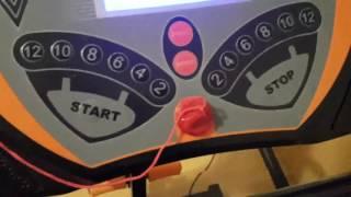Klarfit Pacemaker FX5 Laufband Heimtrainer