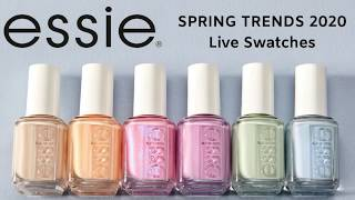 Essie Spring 2020 Collection Live Swatch | Beyond Polish