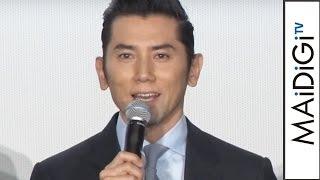 本木雅弘、舞台あいさつでボヤく?深津絵里にラブコール映画「永い言い訳」舞台あいさつ1