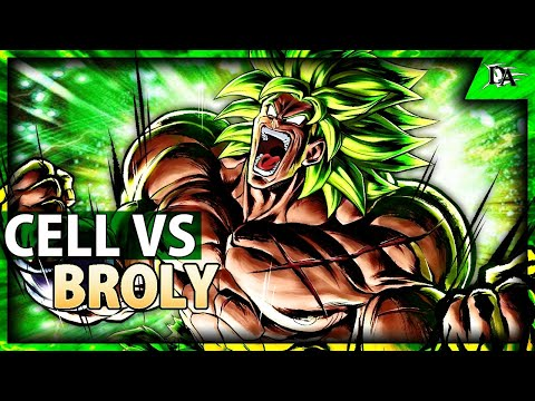 Perfect Cell VS Super Broly