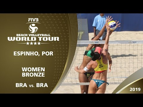 LIVE 🔴 - Women's Bronze Medal   4* Espinho (POR) - 2019 FIVB Beach Volleyball World Tour