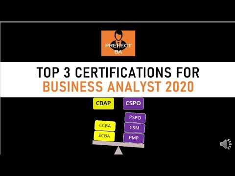 Business Analyst Training For Beginners | Business Analyst Certifications 2020 CBAP