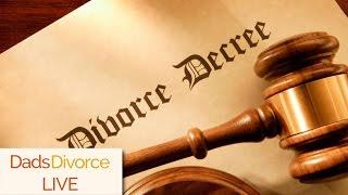 The Warning Signs Of Divorce - DadsDivorce LIVE