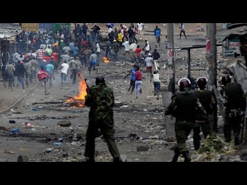 Βία και δακρυγόνα μετά την νίκη Κενυάτα