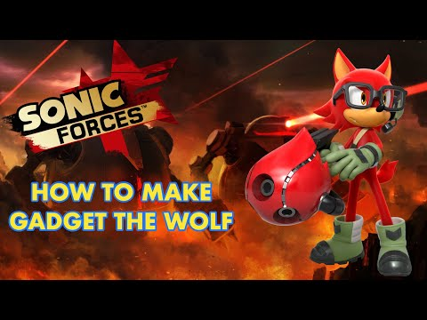 Sonic Forces How To Make The Wolf Avatar