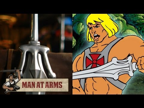 Forging He-man's Sword (Masters of the Universe)
