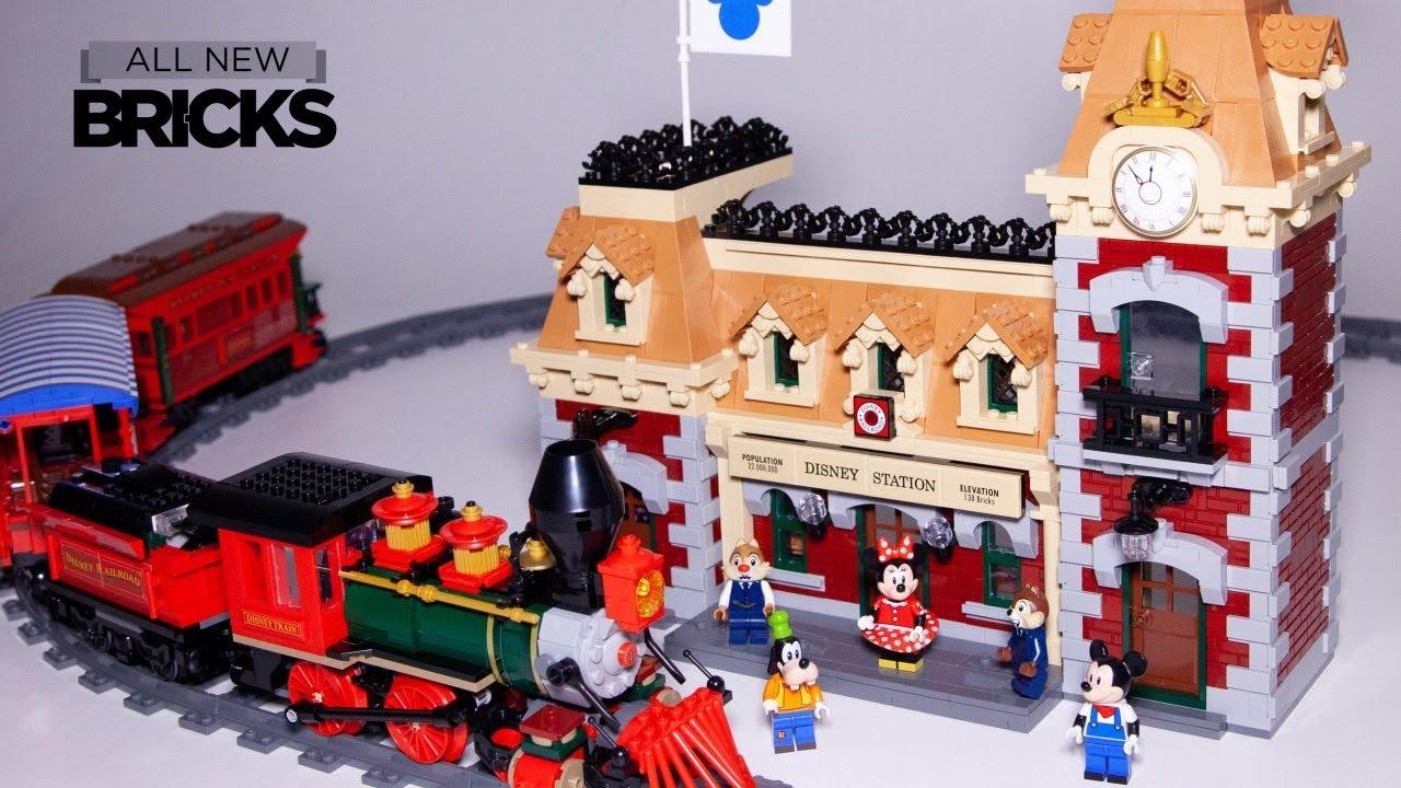 Lego Disney 71044 Disney Train and Station Speed Build