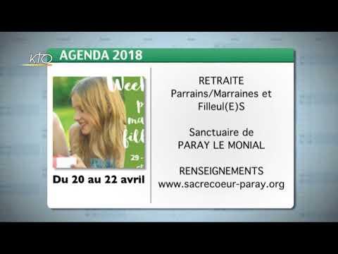 Agenda du 13 mars 2018