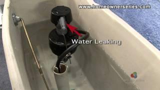 How to Fix a Toilet - Diagnostics - Internal Leaking