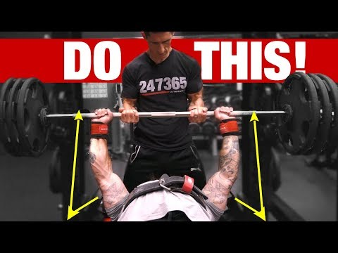 Add 40 LBS to Your Bench Press (NEXT WORKOUT!)