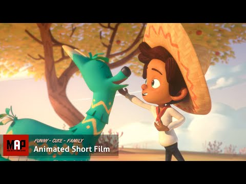 Cute CGI 3D Animated Short Film ** HOLA LLAMIGO ** Funny Family Animation for Kids by Ringling