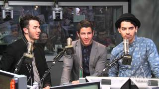 Jonas Brothers Debut 'Pom Poms' PART 1 | Interview | On Air with Ryan Seacrest