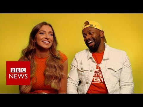 Brexit blind dates: Love Island's Zara and Magid Magid - BBC News