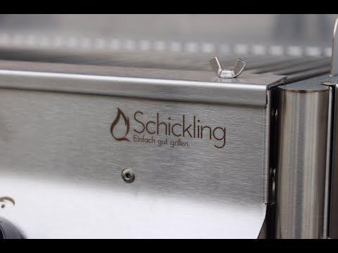 Unboxing und Aufbau SCHICKLING Edelstahl PremioGas - deutsches Grill - und BBQ-Video - 0815BBQ
